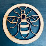 Bee Coaster Set 4 With Stand 3