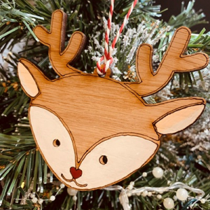 Oak Rudolf Bauble